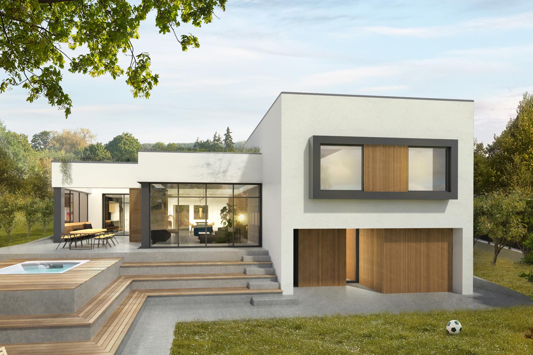 <span>ARHITECTURĂ</span>Casa cu beton