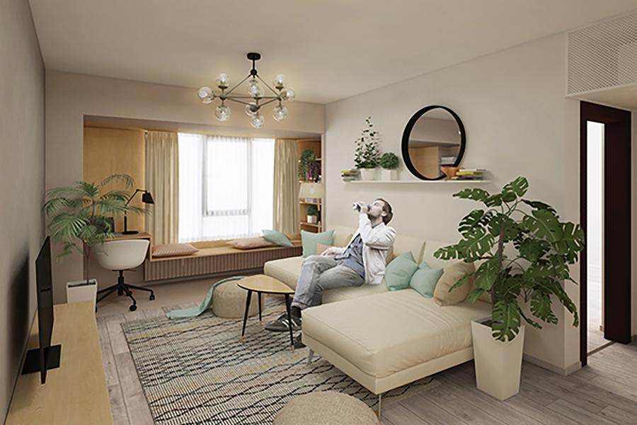 <span>DESIGN</span>Apartament cu nișe