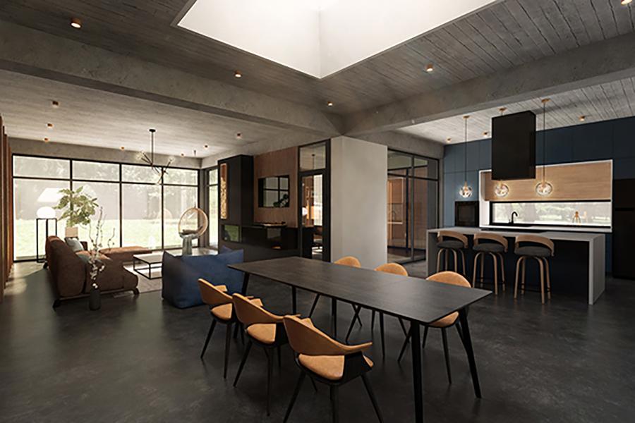 <span>DESIGN</span>Casa cu beton